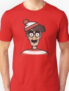 Making himself harder to find T-Shirt