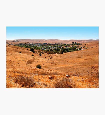 Small town in Australia Photographic Print