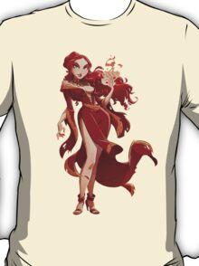 Melisandre Illustrated Pin Up T-Shirt