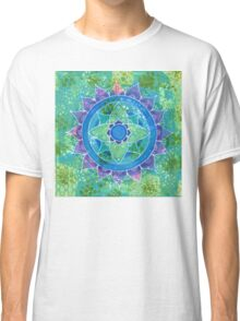 Mixed Media Mandala Classic T-Shirt