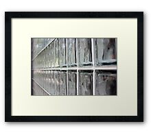 Glass Framed Print