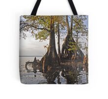 Surreal Cypress Tote Bag