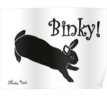 Daily Doodle 16 - Energy - Binky! Poster