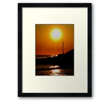 Not even 5:30am! (Fairy Bower) Framed Print