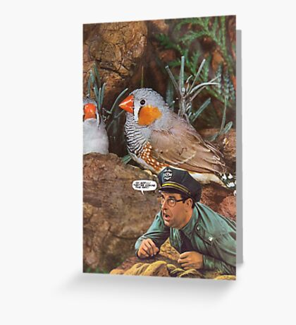 M Blackwell - They're Coming This Way! Greeting Card
