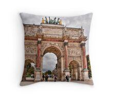 Arc du Carrousel  Throw Pillow
