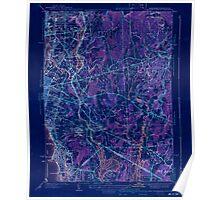 Massachusetts  USGS Historical Topo Map MA East Providence 351653 1941 31680 Inverted Poster