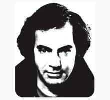 Neil Diamond 1980's B/W by smilku