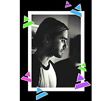 Manbun Jared Leto Photographic Print