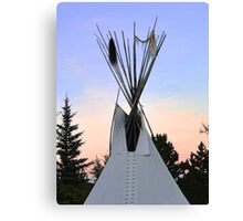 TeePee Creeping Canvas Print