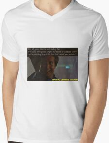 Funny Quotes-National Lampoons Vacation Mens V-Neck T-Shirt