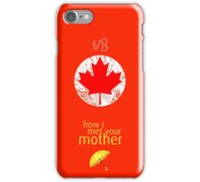 1/8 Canadian - How I Met Your Mother iPhone Case/Skin
