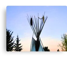 TeePee Creeping II Canvas Print