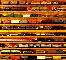 many trains by tinncity