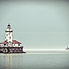 Chicago Harbor Lighthouse by Hilary Walker