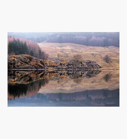 Misty Reflections in Loch Lubhair Photographic Print