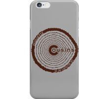 Cousins 2nd Generation - Brown iPhone Case/Skin
