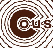 Cousins 2nd Generation - Brown Sticker
