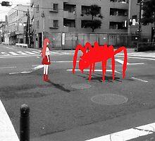 Monogatari – Red Crab by gentlemenwalrus