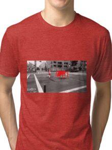Monogatari – Red Crab Tri-blend T-Shirt