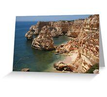 Praia da Marinha, Algarve Greeting Card