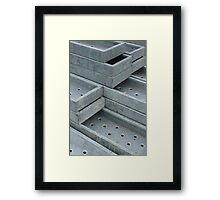 Construction 2. Framed Print
