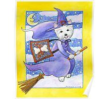 Halloween Westie Poster