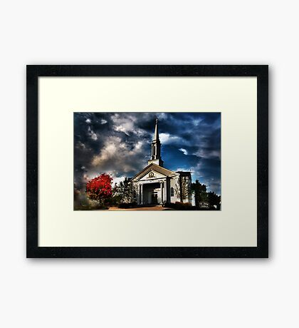St Jude Church Framed Print