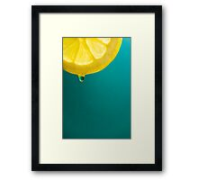 squeeze me Framed Print