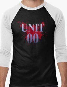 Unit 00: Ayanami Rei Men's Baseball ¾ T-Shirt