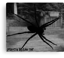Boris the Spider Canvas Print