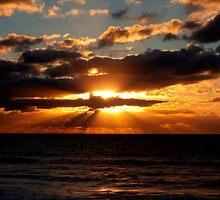 Bude Sunset by Luke Stevens