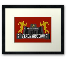 The Flash Museum  Framed Print