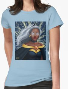 Storm Portrait  Womens Fitted T-Shirt