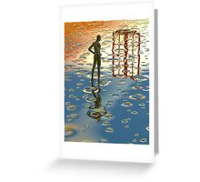 Window of opportunity Greeting Card