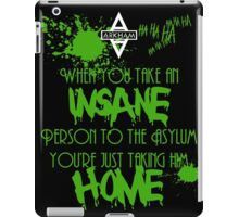 Batman - Arkham Asylum iPad Case/Skin