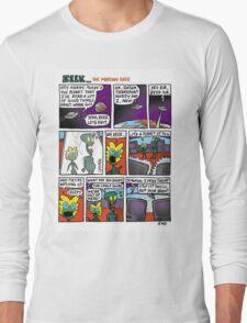 ZEEK ... The Martian Geek - planet TVs comic Long Sleeve T-Shirt
