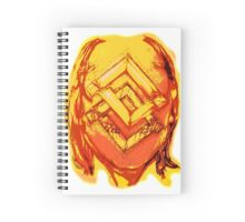 Frame within a Face Spiral Notebook
