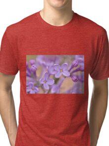 Lilac Macro, As Is Tri-blend T-Shirt