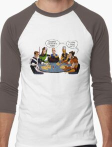 X-Gamers Men's Baseball ¾ T-Shirt