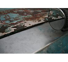 Old Car Detail Photographic Print