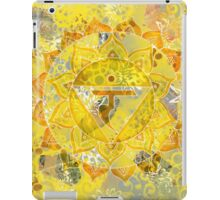 Third Chakra Mandala iPad Case/Skin