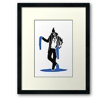The Paint Man Framed Print