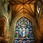 The Stained Glass Splendour of St Giles by Christine Smith