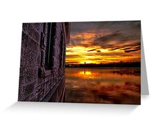 Another day is over III Greeting Card