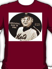 "Rodney Dangerfield Mets Opening Day 1986 ""A Little Respect"" T-Shirt"