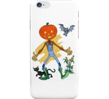 Pumpkin Scarecrow Pal iPhone Case/Skin