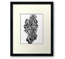 Empty City Headcase Framed Print