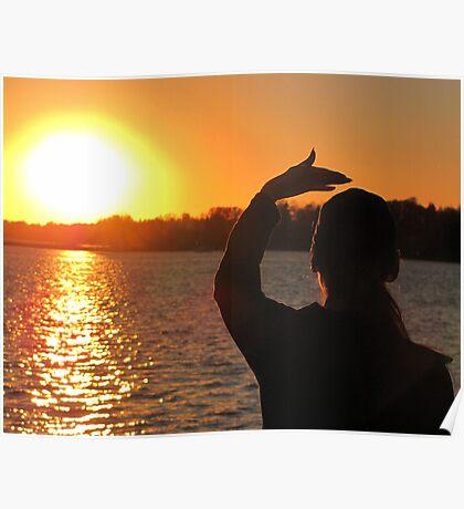 THUNDERBIRD WOMAN  &  FATHER SUN  Poster