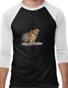 Pika Howling Men's Baseball ¾ T-Shirt